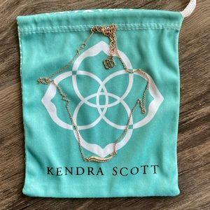 NWOT Kendra Scott Rose Gold Necklace
